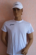 Asics Комплект футболка белая + бейсболка