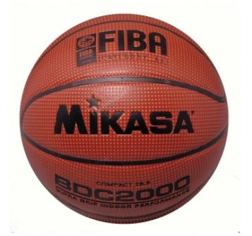 MIKASA  Мяч баскетбольный FIBA  BDC 2000